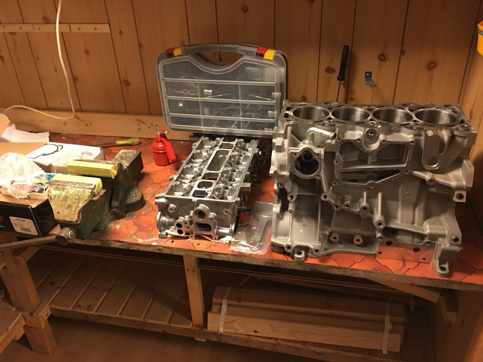 Engine rebuild part 4: Mazda MZR 2 5L valve job and assembly