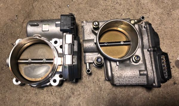 Chrysler 74mm throttle body upgrade